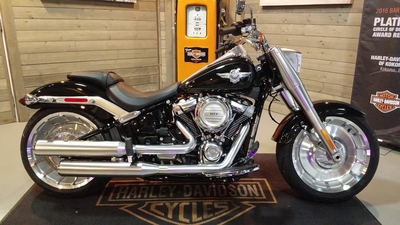 Blacked Out Harley Davidson Fatboy