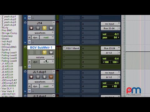 Automation In Pro Tools: Fundamentals