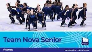Team Nova Senior (CAN)   Helsinki 2019   #WorldSynchro