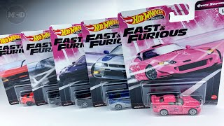 Hot Wheels Premium 2020 FAST /& FURIOUS QUICK SHIFTERS Honda Nissan Stingray PICK