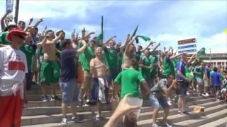 BEST OF Irish and Northern Irish Fans || EURO 2016