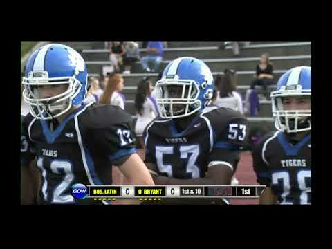 Game of the Week: Boston Latin Wolfpack vs. O'Bryant Tigers (Football)