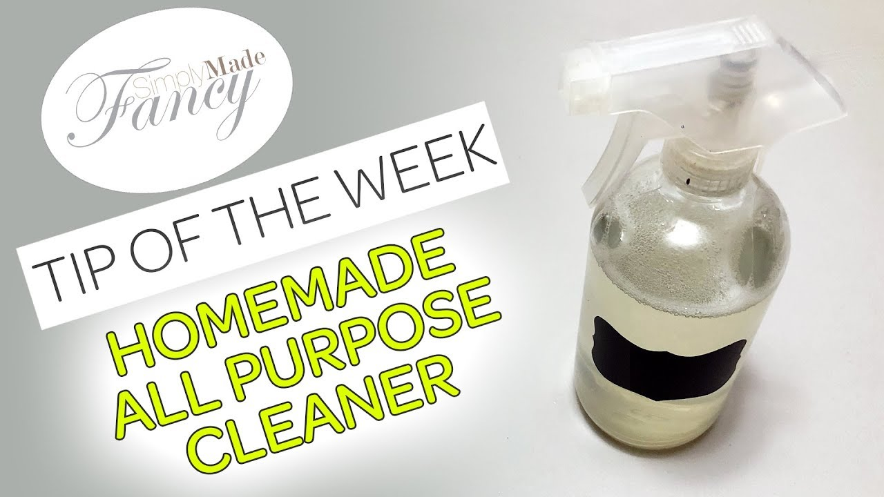 Homemade All Purpose Cleaner - TIP of