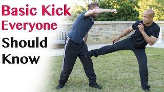 Basic Kick Everyone Should Know   Wing Chun