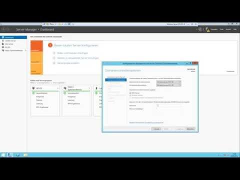 Windows Server 2012 R2 Konfigurieren + AD-DS Installation und Konfiguration [Tutorial][Deutsch]
