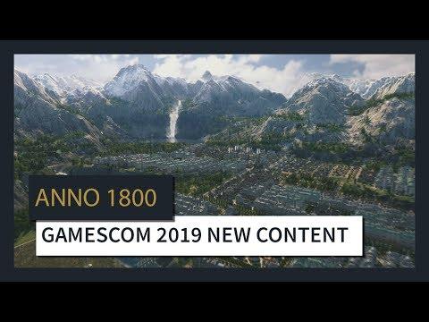 ANNO 1800™ : GAMESCOM 2019 NEW CONTENT TRAILER