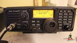 icom ic 7200 hf radio