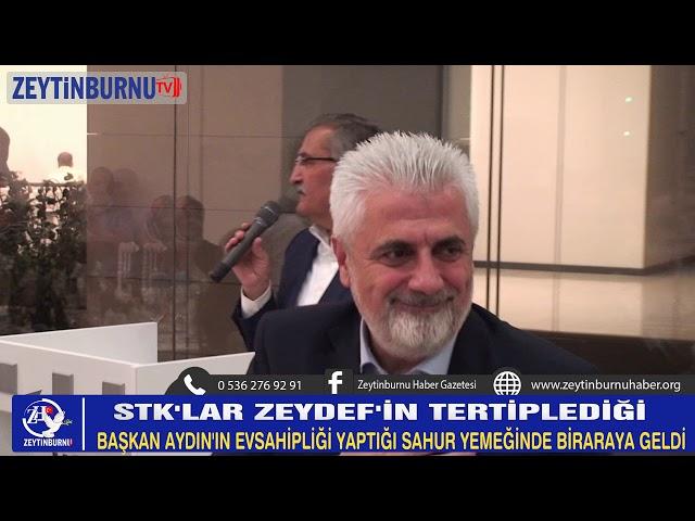 STK'lar ZEYDEF'in Sahur yemeğinde bir araya geldi