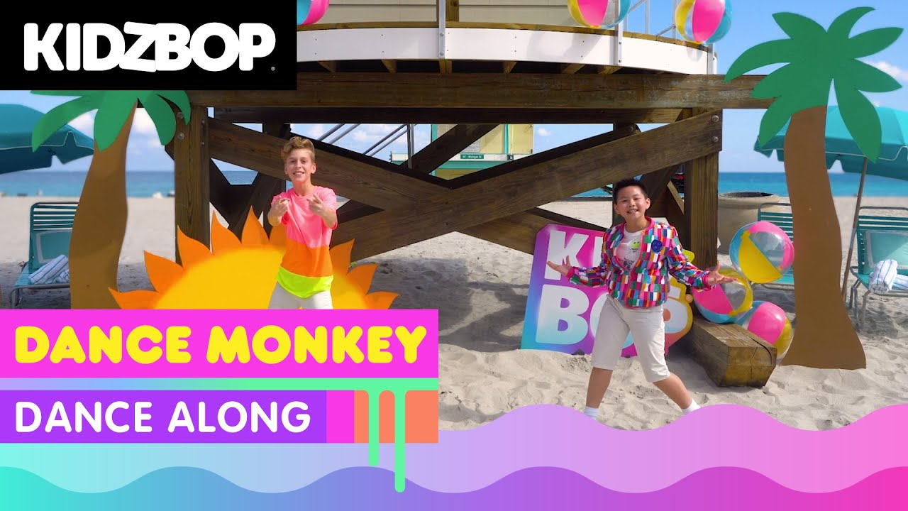 Kidz Bop Kids Dance Monkey Dance Along Kidz Bop Party Playlist Youtube