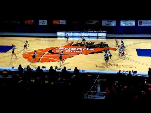 Clay Battelle High School A WVSSAC Cheer States 2015