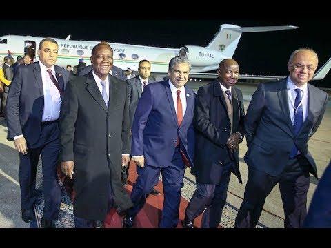 Le Chef de l'Etat est arrivé à Charm el Cheikh pour prendre part au Forum Africa 2017