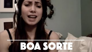 Boa Sorte / Good Luck - Vanessa Da Mata & Ben Harper (cover by Jessica Allossery & Mark Beasley)