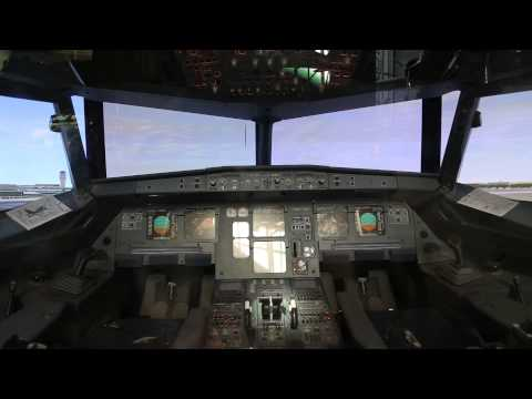 A320 Simulated Cockpit