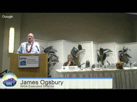 Welcome, Remarks: Hawai'i Gov. David Ige