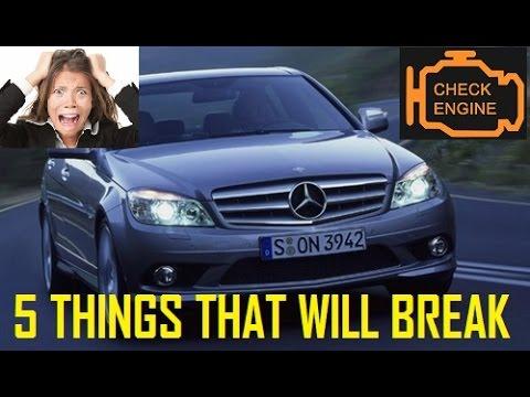 W204 C Class - 5 Things That Will Break (2007 - 2014)