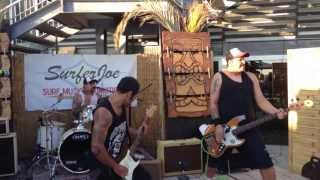 The Mullet Monster Mafia - Raining Blood cover @ Surfer Joe Summer Festival