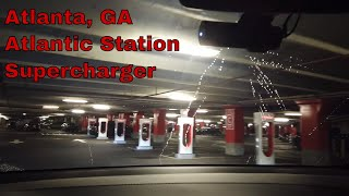 Atlanta – Atlantic Station Supercharger Review – Where are the restrooms?