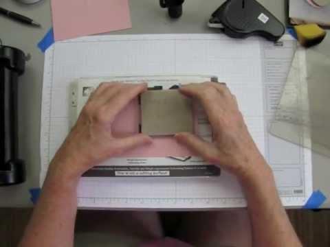 How To Use The Designer Frames Embossing Folder.m4v