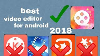 video editor free no watermark best app for android phone mobile in Google play store 2018