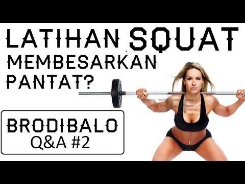 Squat Membesarkan Pantat? Apakah Smith Machine Bagus? | Brodibalo Q&A #2