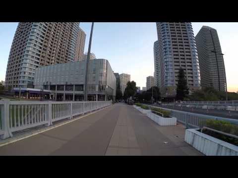 Cycling in Tokyo: Shintomi _ Tsukiji _ Akashichō _ Hatchōbori _ Shinkawa