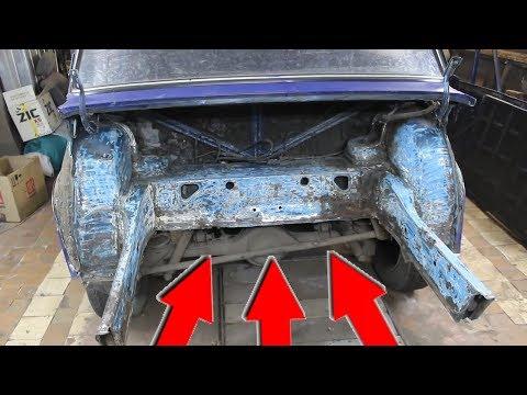 капитальный ремонт кузова- ваз 2107 .как это было