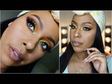 makeup-monday-|-yellow-cut-crease-|-box-of-crayons-palette-+-initial-thoughts-|