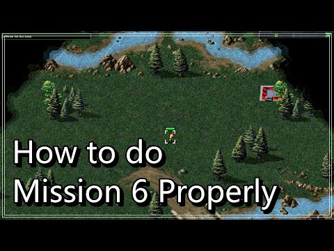 Command & Conquer:Remastered Collection │HOW TO DO MISSION 6 PROPERLY!(SKIP MISSION 7 !!!) + FMV |