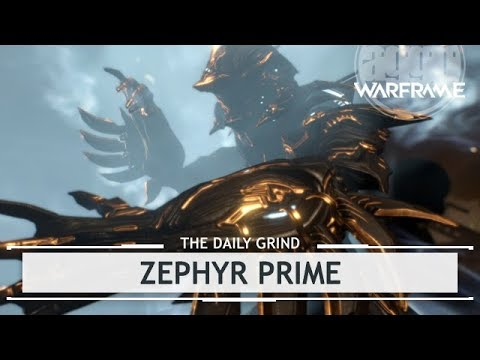 Warframe: Zephyr Prime - Builds, Fashion, Tips & Tricks [thedailygrind]