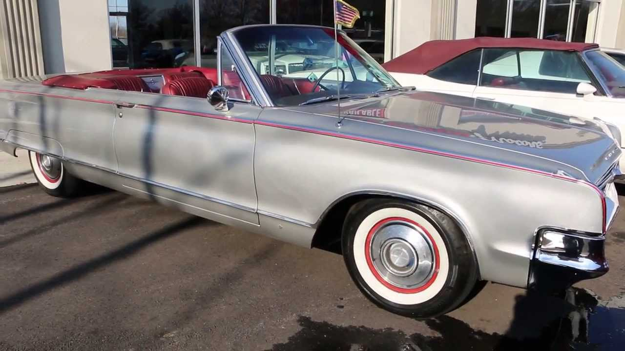 2014 Chrysler 300 For Sale >> 1965 Chrysler 300L Convertible For Sale~440 Produced~413~Beautiful Convertible for The Whole ...