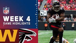 Washington Football Team vs. Falcons Week 4 Highlights   NFL 2021