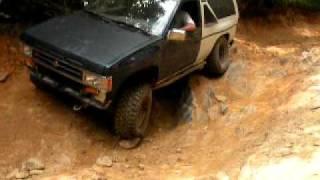 1987 Nissan Pathfinder, Uwharrie, Rocky Mount Loop