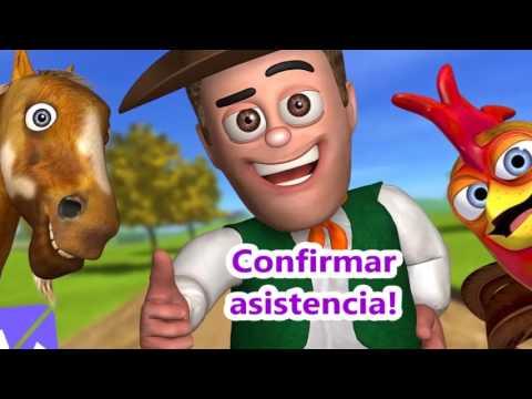 Invitacion Animada De Cumpleanos Infantil Granja De Zenon Youtube