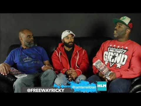 Freeway Rick Ross (Part 2) - Talks Movie Kill The Messenger (Negative Portrayal of Him)
