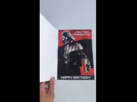 Musical greeting cards with leds