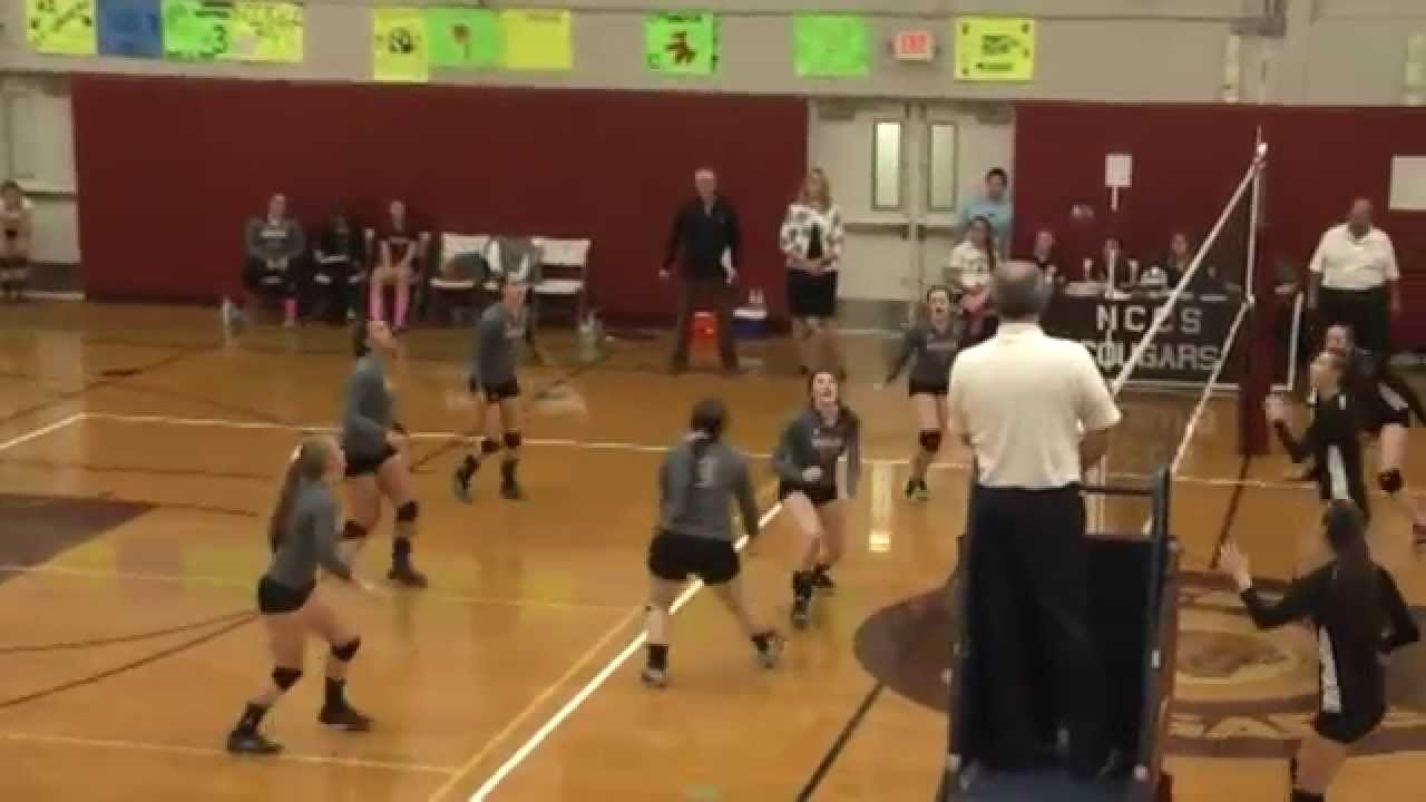 NCCS - Beekmantown Volleyball  10-13-15