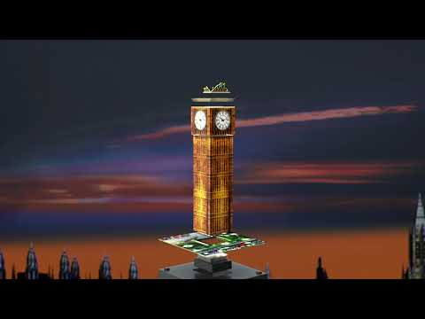 Ravensburger 3D pimedas helendav pusle Big Ben
