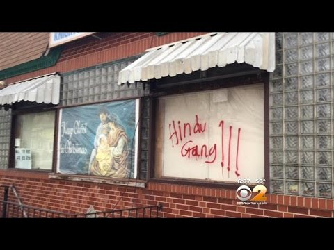 South Ozone Park, Queens Alarmed By Offensive Graffiti Referencing Hindus