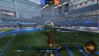 Rocketleague-Good Teamwork Led To A Nice Action And A Goal