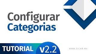 Configurar Departamentos y Categorías en SICAR, Punto de Venta [v2.2] - SICAR.MX