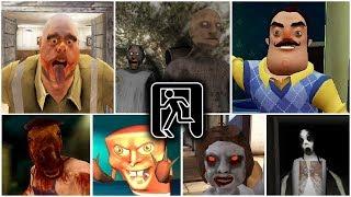 Escape Endings | Granny*Hello Neighbor*Mr.Meat*Dread Teacher*Headhorse*Slendrina*Evil Spongebob