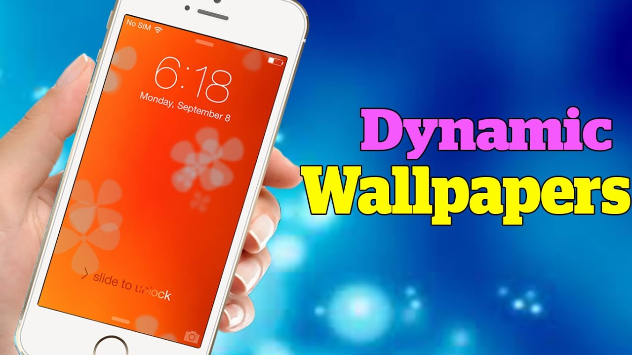 How To Get Dynamic Wallpapers On IPhone IPad And IPod Touch For FREE