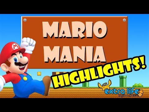 Mario Mania for Extra Life Charity Highlights!