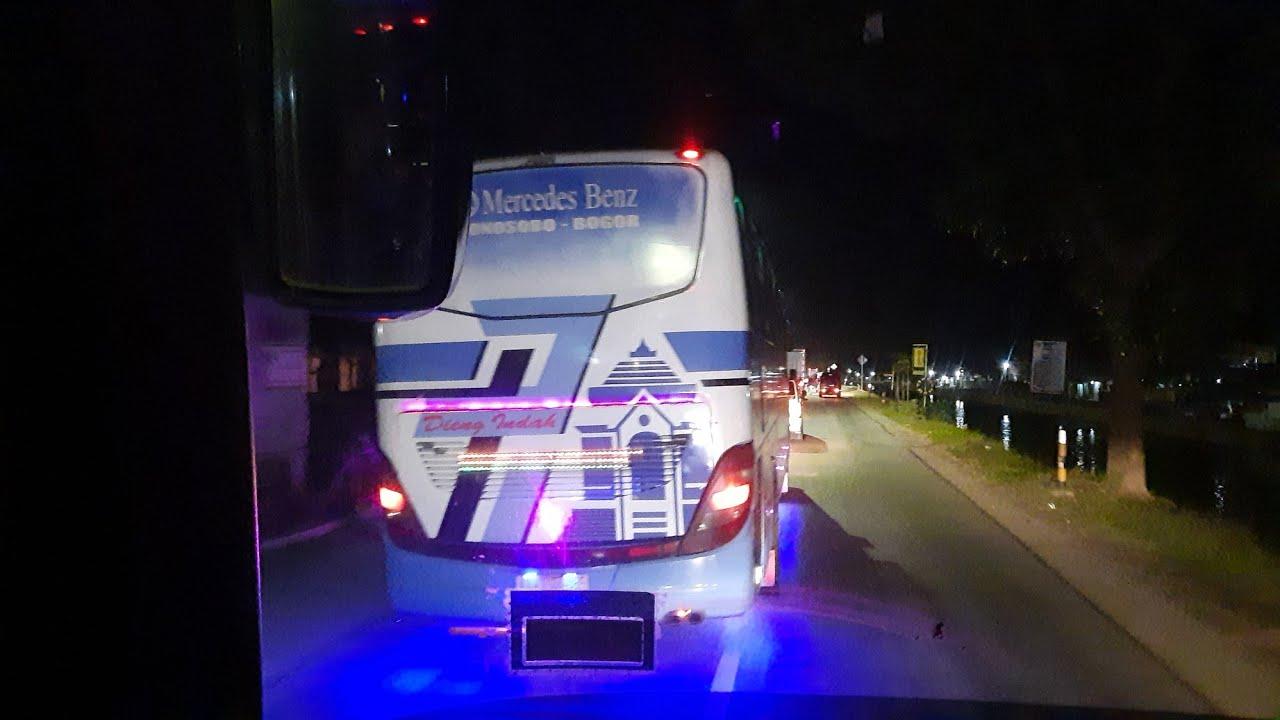 Download Menegangkan konvoi Bus Jalur selatan sampai miring miring,Faktor ini !!
