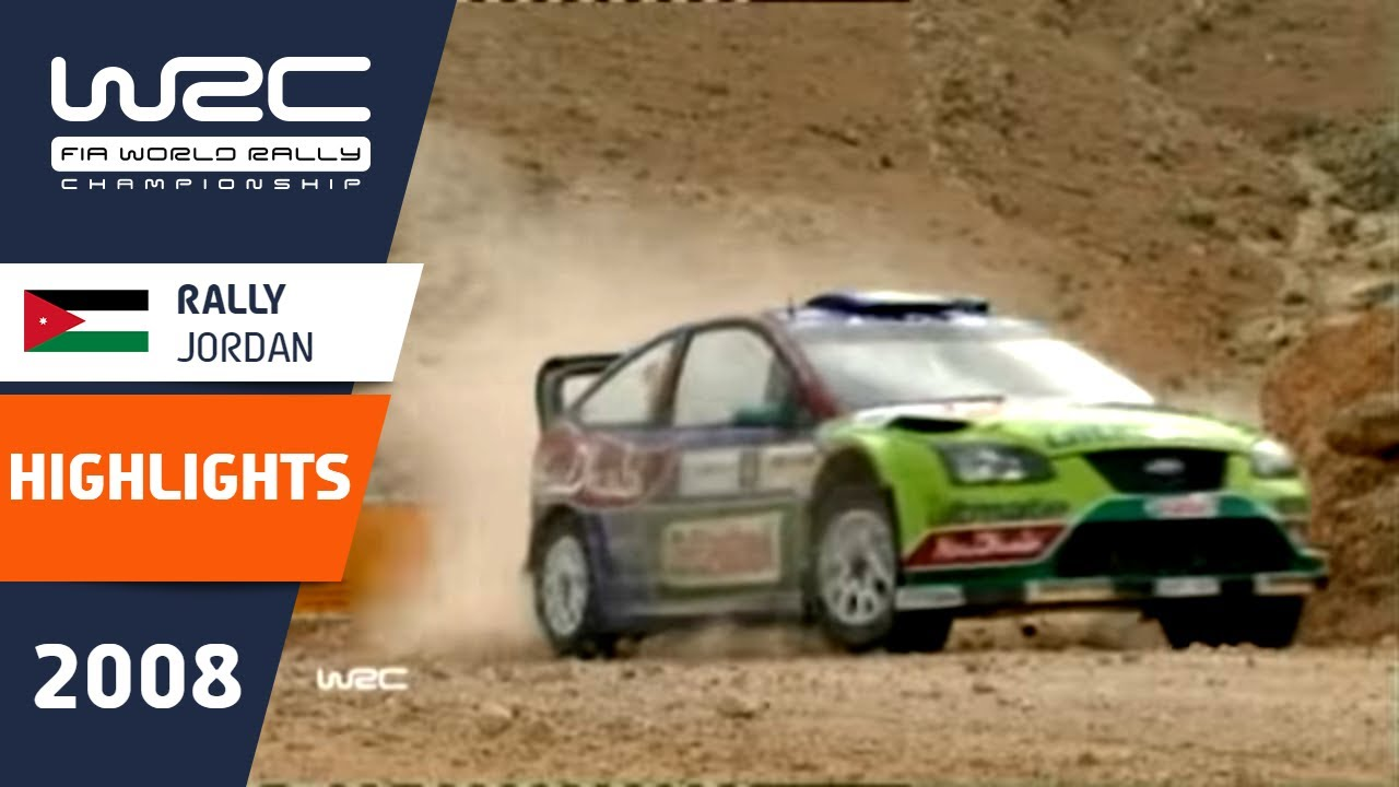 Rally Jordan 2008: Highlights / Review / Results