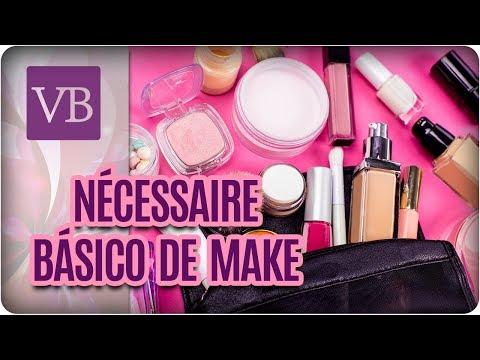 Nécessaire Básica de Maquiagem - Você Bonita (31/08/17)