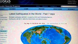 8-10-2011 Seismic Watch: Kermadec Trench, Ascension Island, Colorado