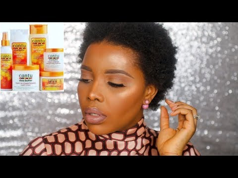 HOW I WASH & STYLE MY 4C NATURAL HAIR | CANTU HAIR PRODUCTS