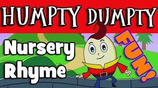 HUMPTY DUMPTY NURSERY RHYME  FOR BABIES AND TODDLERS / PLAY-DOH FUN / STORY TIME
