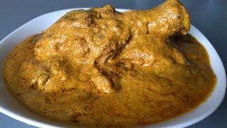 Posto Chicken/ Chicken with poppy seeds paste/ Posto recipe/ Chicken recipe